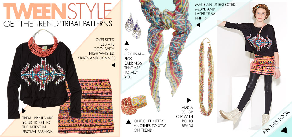 Zulily Campaign Theme Design - Tween Style