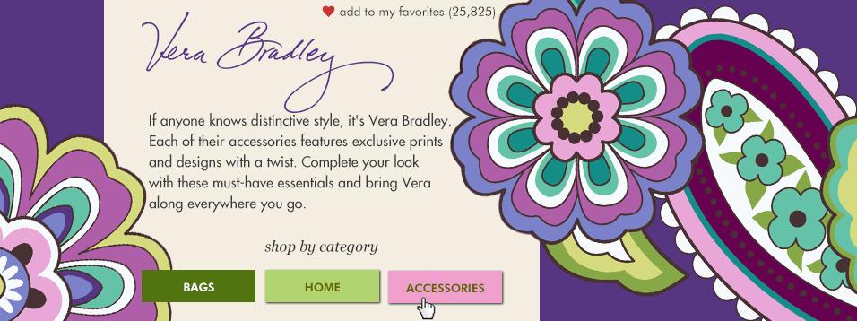 Brand Feature Design - Vera Bradley