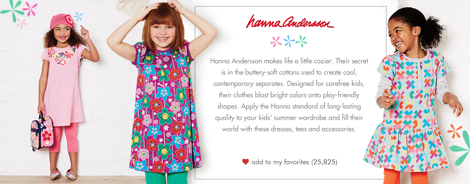 Brand Feature - Hanna Andersson