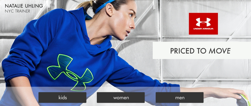 Brand Feature for iPad App - Under Armour